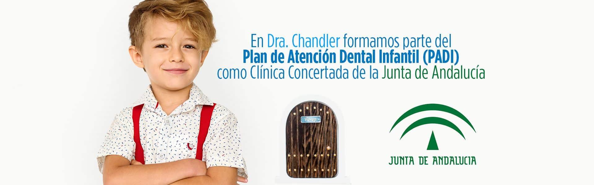 PADI plan de atencion dental infantil chandler